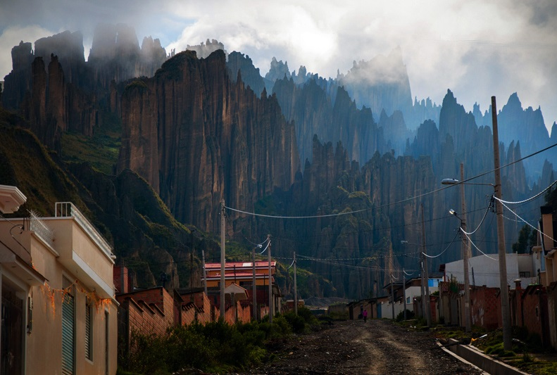 Valle de las Animas, Bolivia