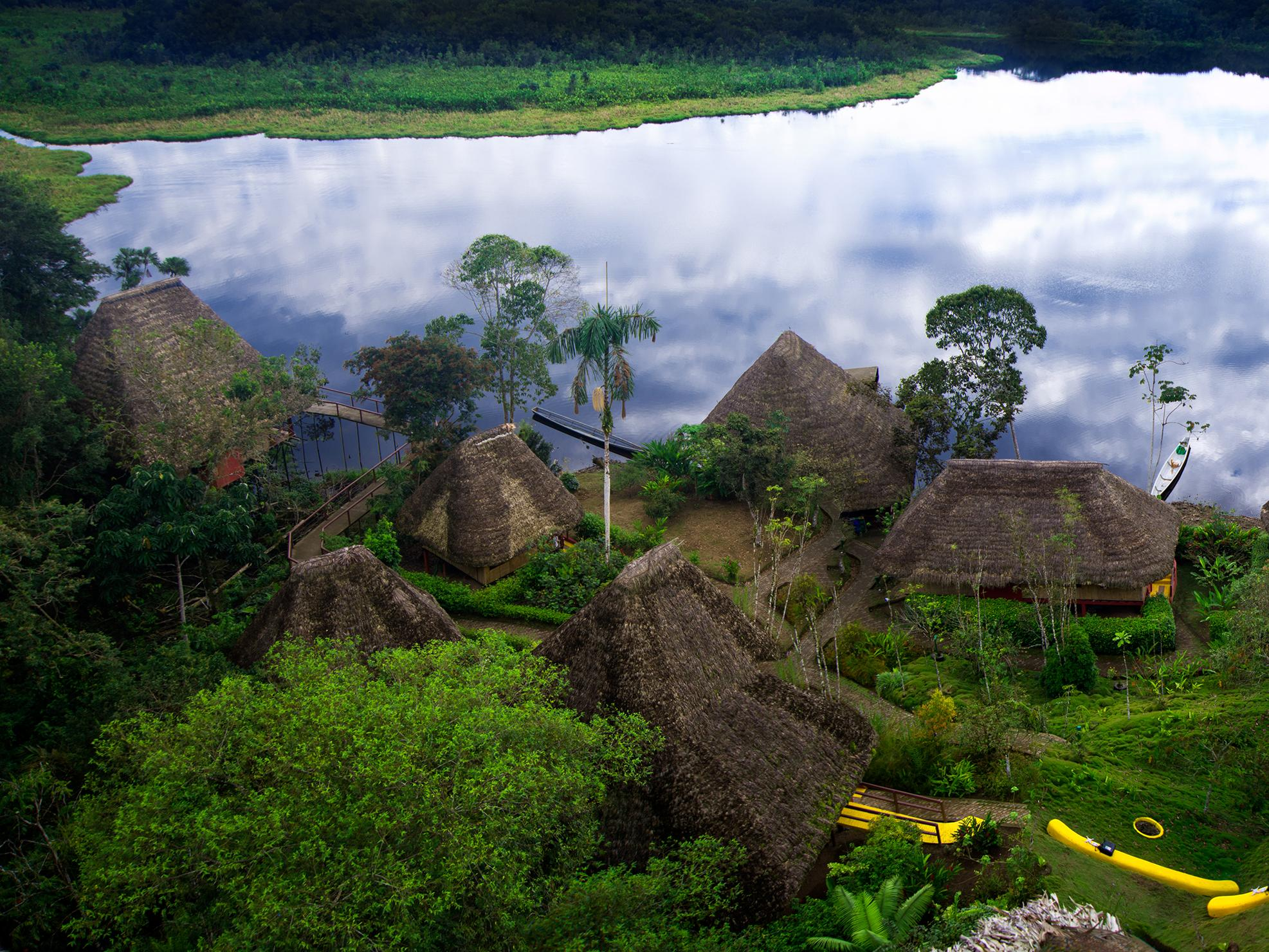 Traditional Amazon cottages