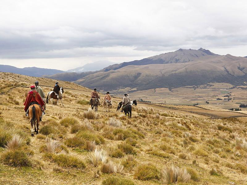 Horse riding in Cotopaxi, Ecuador mainland adventures