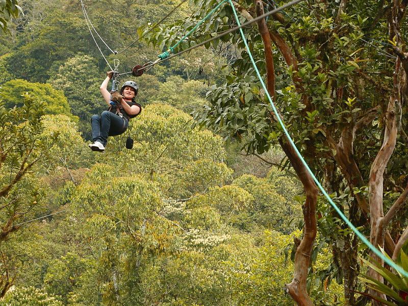 Mindo zip lining, Ecuador mainland adventures