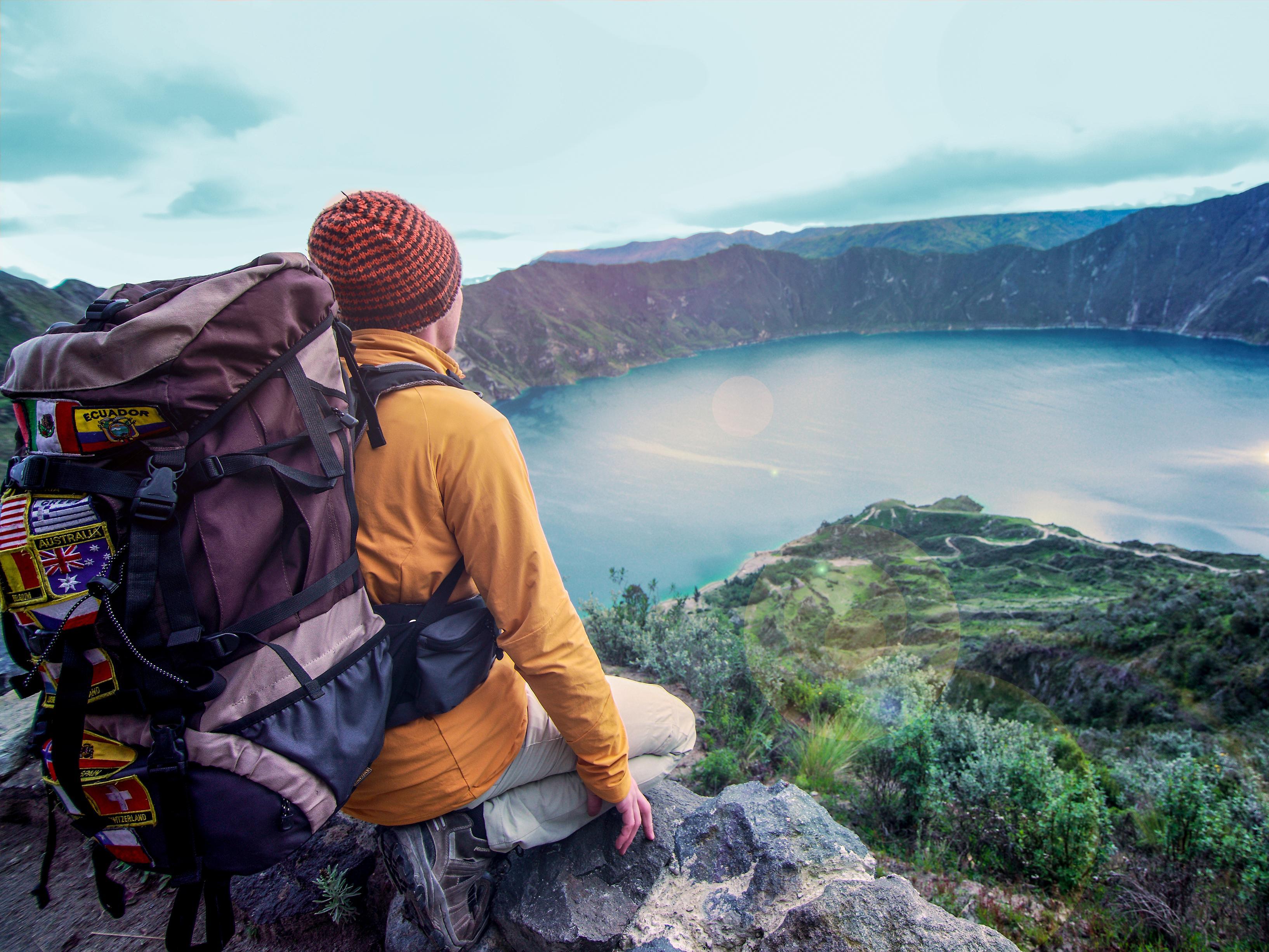 Trekking Quilotoa Crater Lake, Ecuador mainland adventures