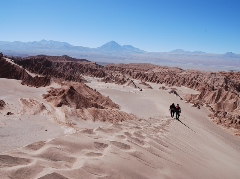 Atacama, Honeymoon in Chile
