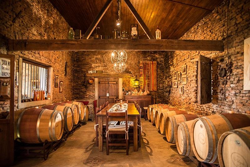 El Legado Wine tasting in Uruguay