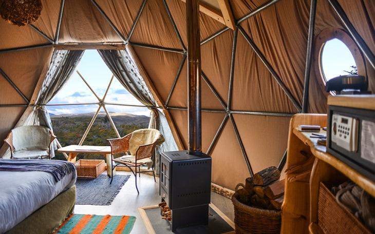 EcoCamp Domes Patagonia | Most Unusual Places to Stay in South America