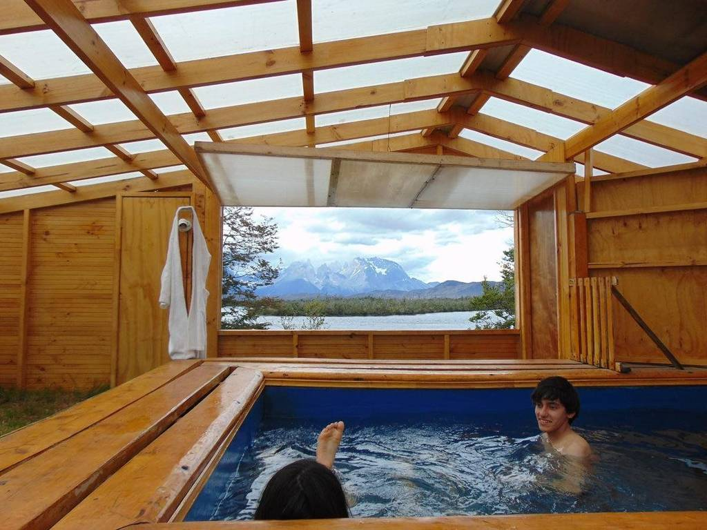 Hot tub time in Patagonia | Patagonia packing list