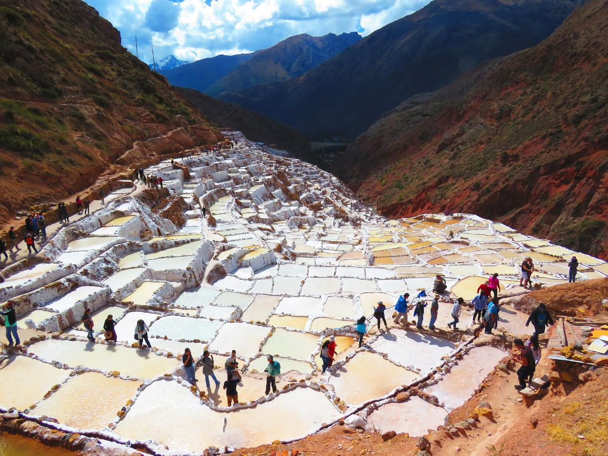 Maras Salt Mines | Sacred Valley with Kids