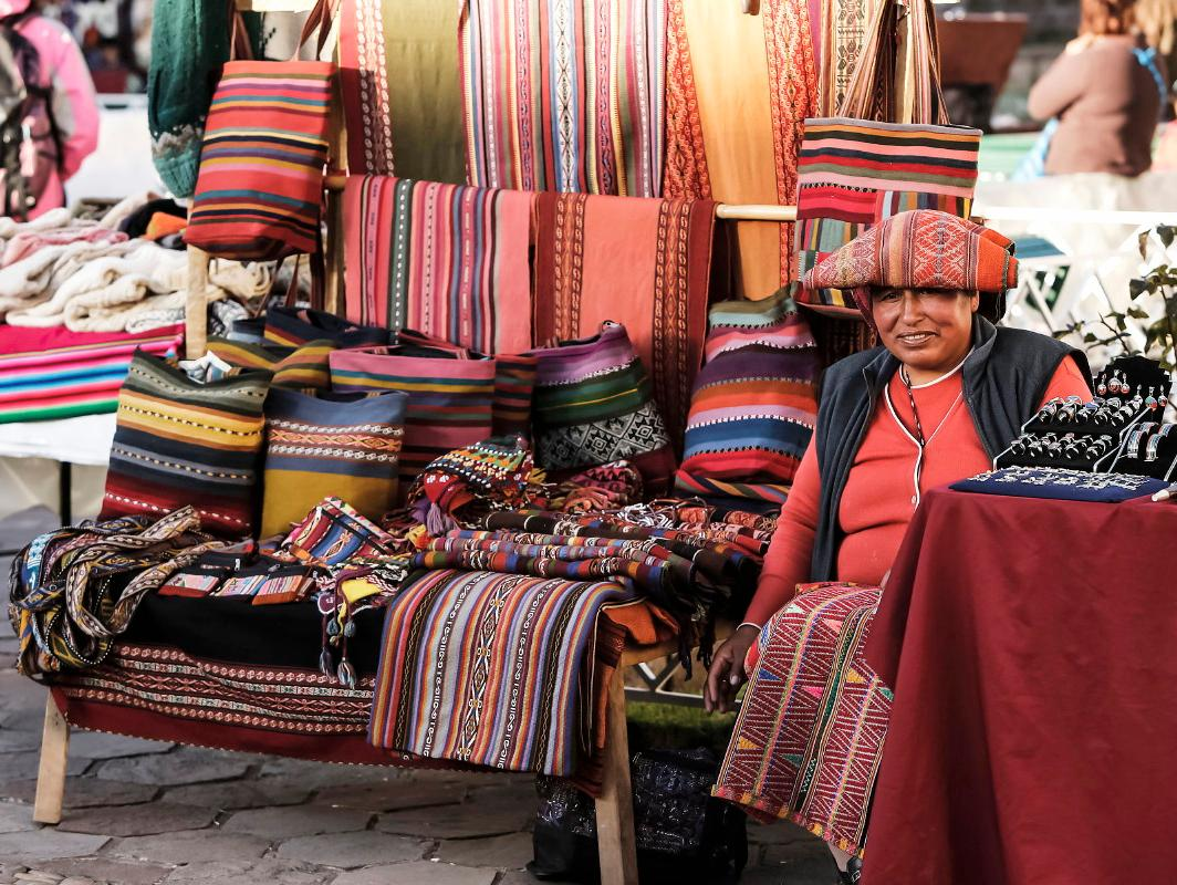 Market in Cusco | Sacred Valley with Kids
