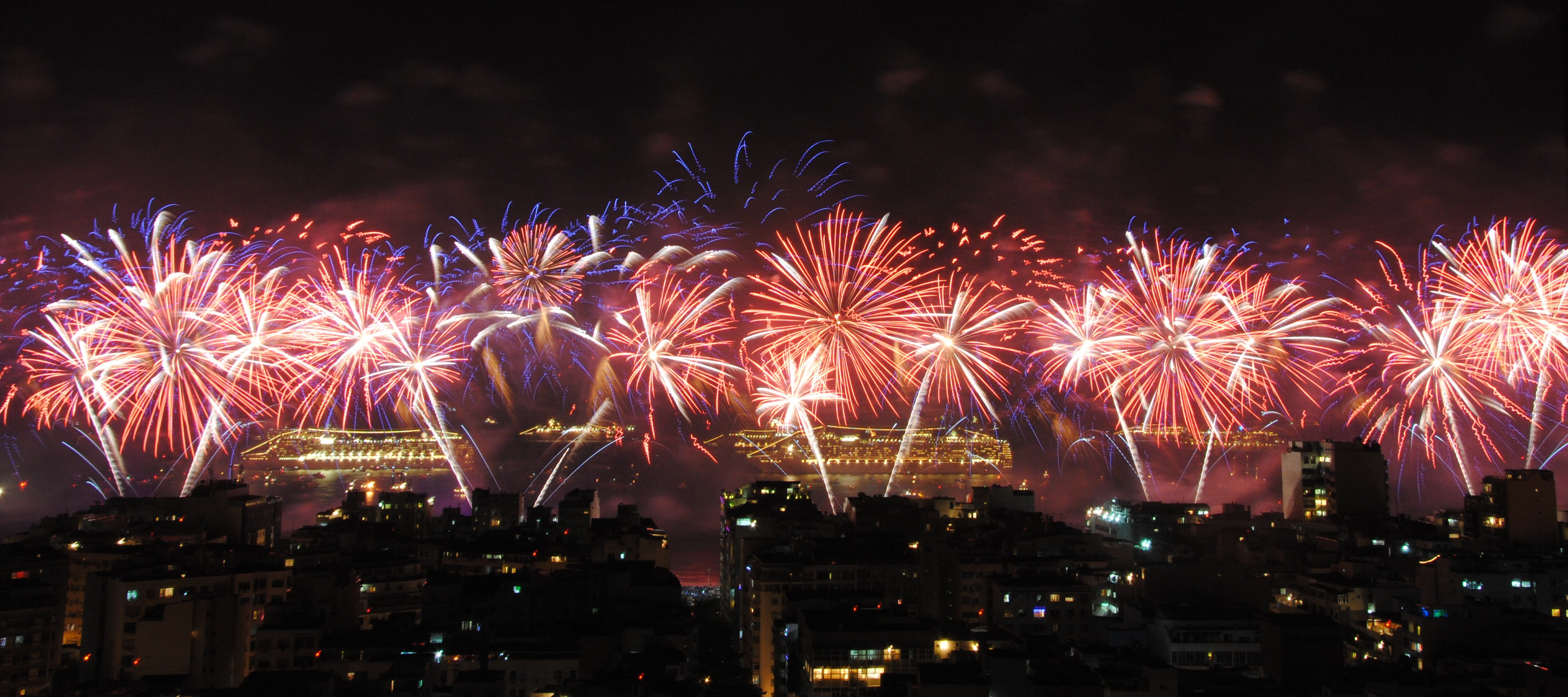New Year's Eve in Rio de Janeiro | New Year's Eve in South America
