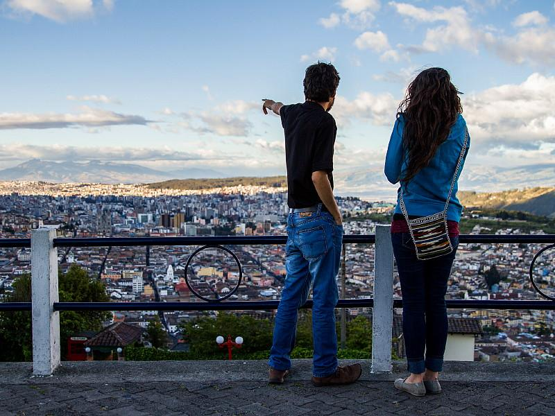 Quito couple | Discover Your South America Blog