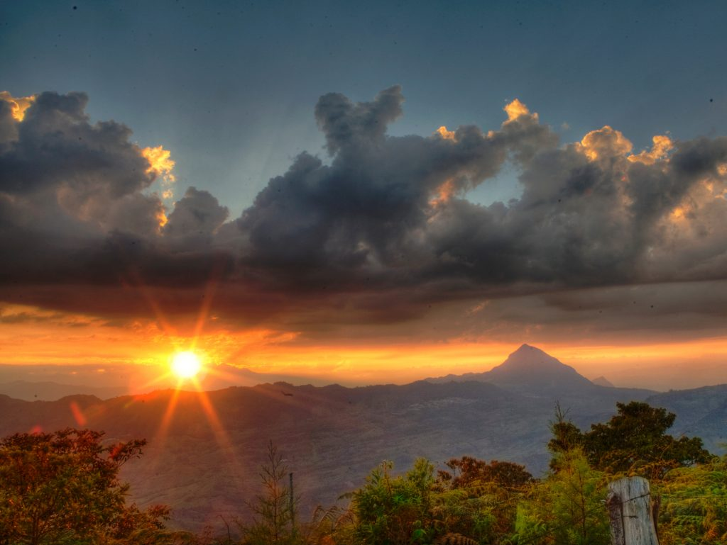 Sunset in Antioquia | Discover Your South America Blog