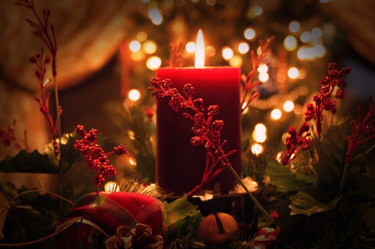 Christmas candle | Discover Your South America Blog
