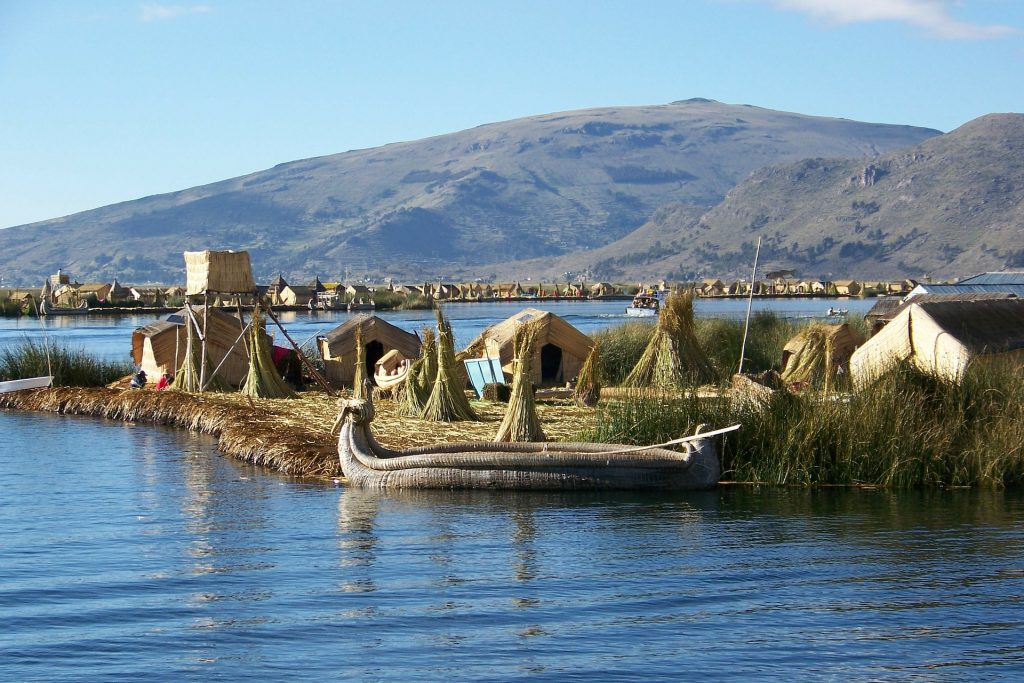 Floating island, Lake Titicaca | Discover Your South America Blog
